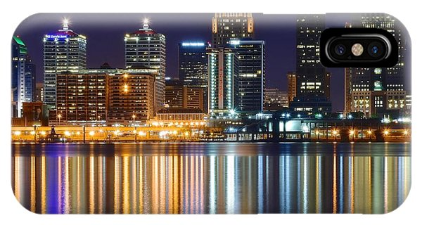 The Lights Of A Louisville Night IPhone Case