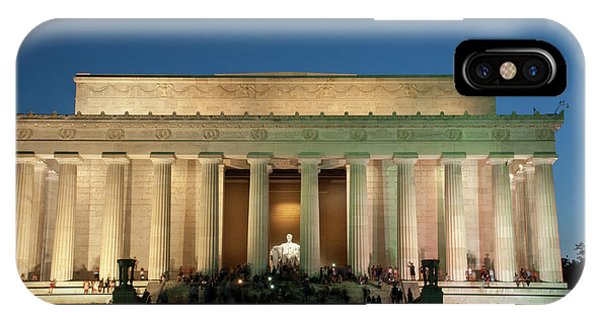 IPhone Case featuring the photograph The Lincoln Memorial by Mark Dodd
