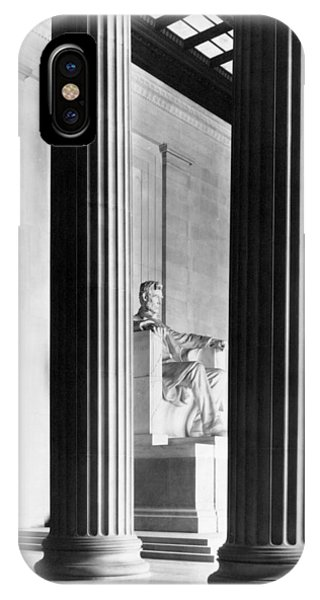 Lincoln Memorial iPhone Case - The Lincoln Memorial by War Is Hell Store