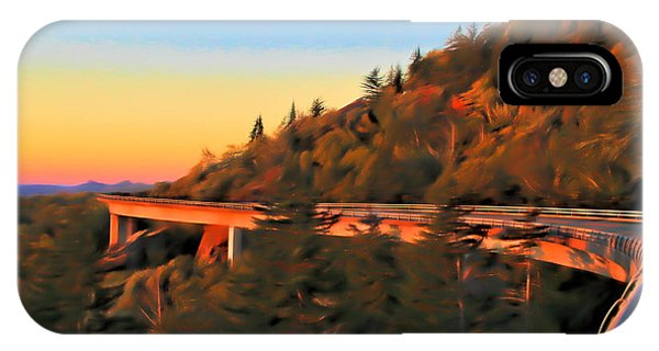 Traveler iPhone Case - The Linn Cove Viaduct At Sunrise by Dan Sproul