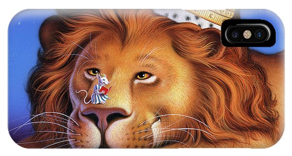 King iPhone Case - The Lion King by Jerry LoFaro