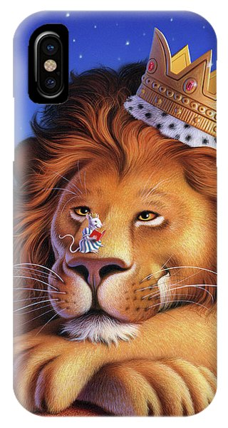 Mouse iPhone Case - The Lion King by Jerry LoFaro
