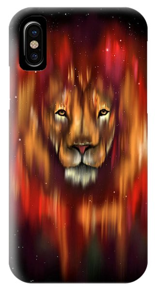 The Lion, The Bull And The Hunter IPhone Case