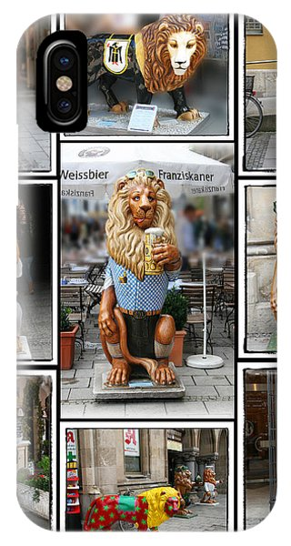 The Lions Of Munich IPhone Case