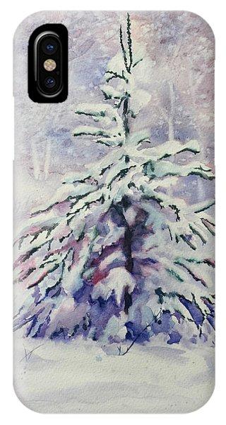 The Little Backyard Tree IPhone Case
