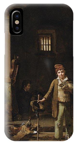 The Little Savoyards' Bedroom Or The Little Groundhog Shower IPhone Case