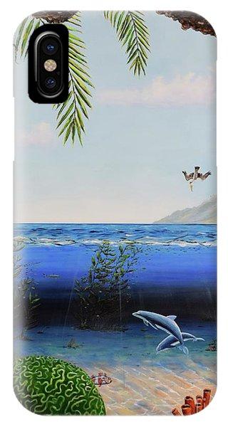The Living Ocean IPhone Case