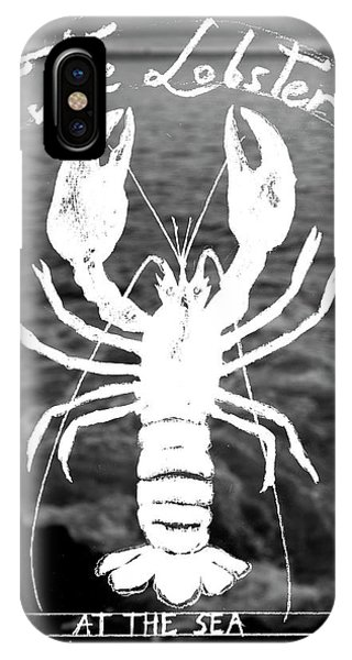 Claws iPhone Case - The Lobster by Juan Bosco
