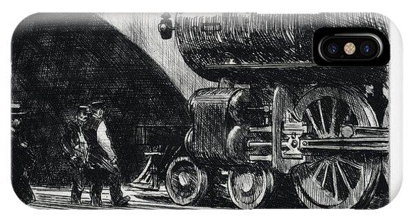 The Locomotive IPhone Case