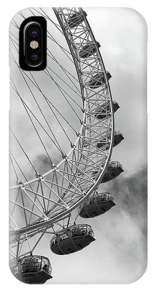 The London Eye, London, England IPhone Case
