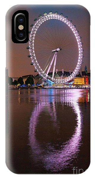 City iPhone Case - The London Eye by Smart Aviation