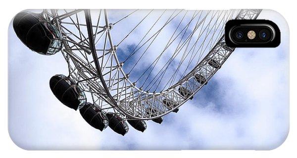 London Eye iPhone Case - The London Eye by Joe Schofield