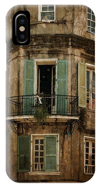 The Lone Balcony Of New Orleans IPhone Case
