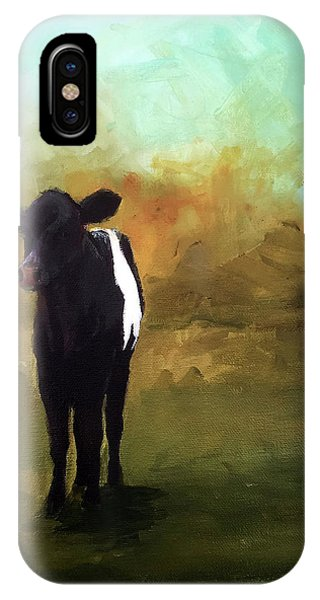 The Lone Beltie Phone Case by Cari Humphry