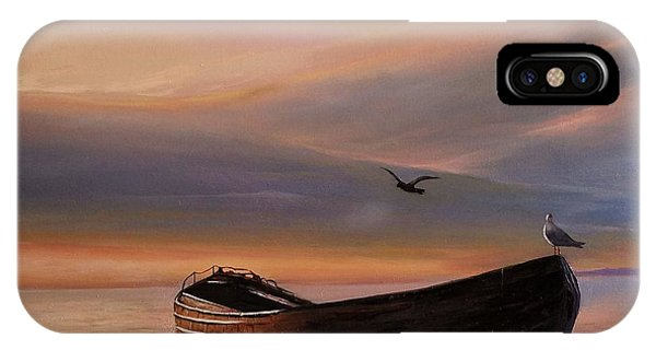 A Lone Boat IPhone Case