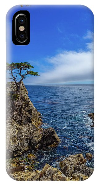 The Lone Cypress 17 Mile Drive IPhone Case