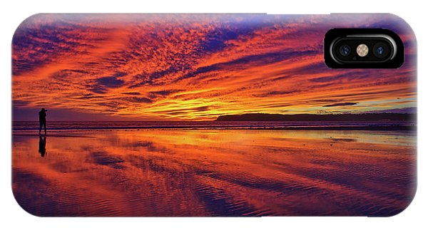 The Lone Photographer IPhone Case