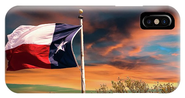 The Lone Star Flag IPhone Case