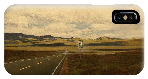 The Loneliest Road IPhone Case