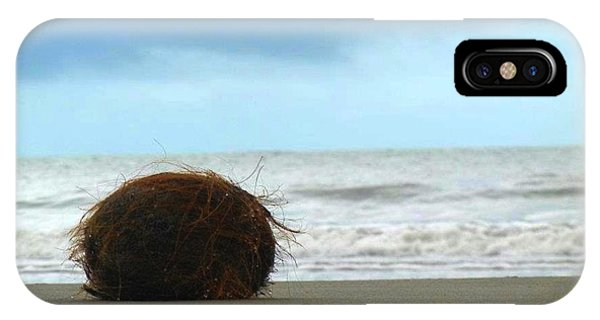 The Lonely Coconut IPhone Case