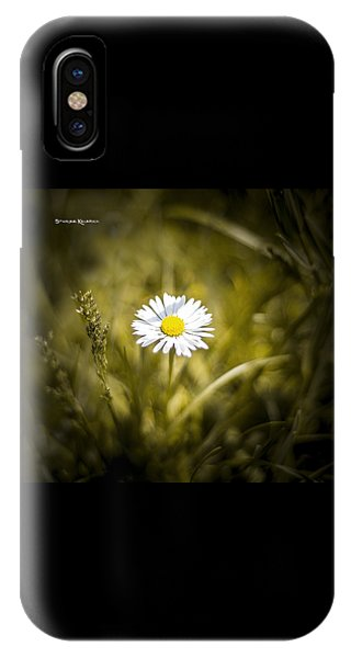 IPhone Case featuring the photograph The Lonely Daisy by Stwayne Keubrick
