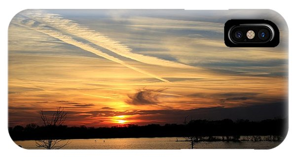 The Lonely Sunset IPhone Case