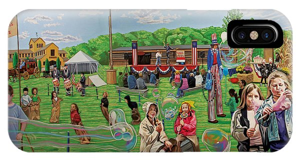 The Long Island Fair At Old Bethpage Restoration IPhone Case