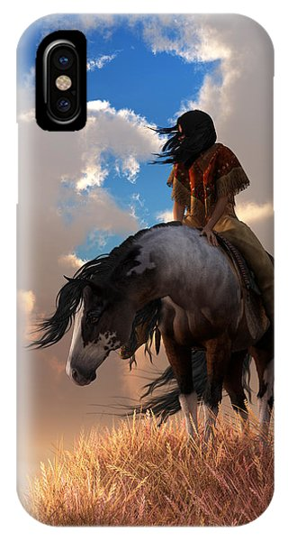 IPhone Case featuring the digital art The Long Journey Home by Daniel Eskridge