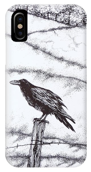 The Long Long Winter IPhone Case