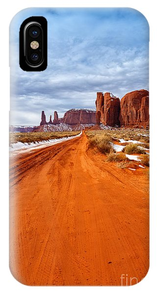 The Long Way IPhone Case