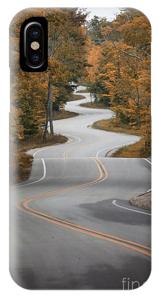 The Long Winding Road IPhone Case