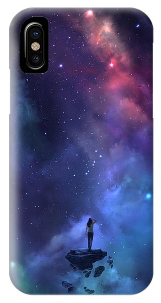 Space iPhone Case - The Loss by Steve Goad