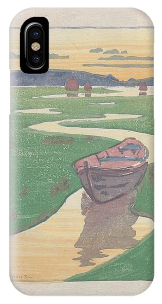 The Lost Boat , Arthur Wesley Dow IPhone Case
