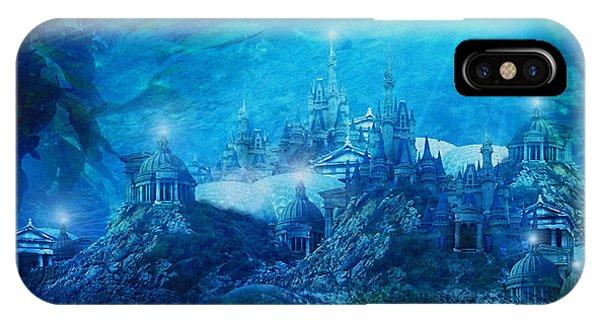 Myth iPhone Case - The Lost City by Karen Koski
