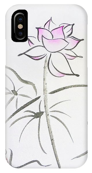 The Lotus Rises Out Of Muddy Waters Untainted IPhone Case