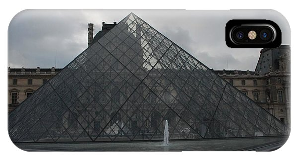 The Louvre And I.m. Pei IPhone Case