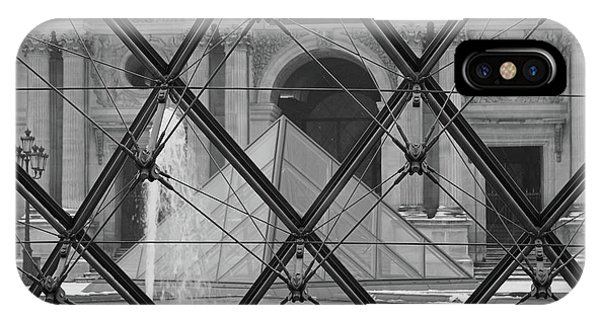 The Louvre From The Inside IPhone Case