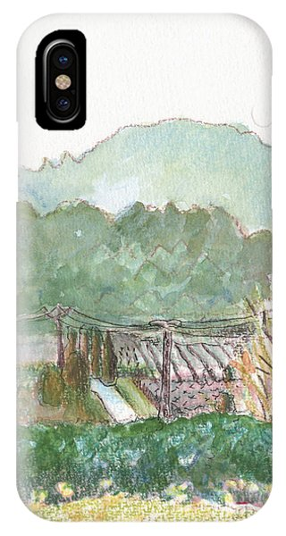 The Luberon Valley IPhone Case