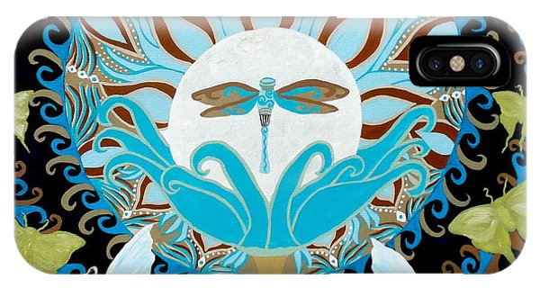Moth iPhone Case - The Luna Moth Journey Of Faith And Love by Jean Fry