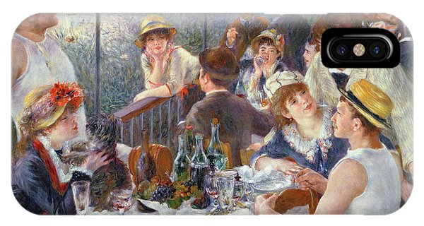 Oil iPhone Case - The Luncheon Of The Boating Party by Pierre Auguste Renoir