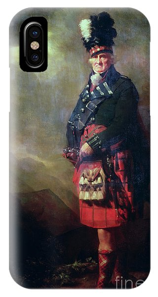 Plumes iPhone Case - The Macnab by Sir Henry Raeburn