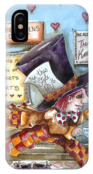 The Mad Hatter - In Court IPhone Case