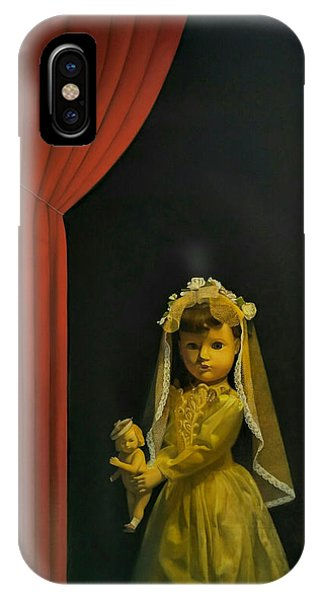 Fantasy Realistic Still Life iPhone Case - The Madonna And Child by Weiyu Xia