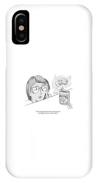 The Magic Bean Genie IPhone Case