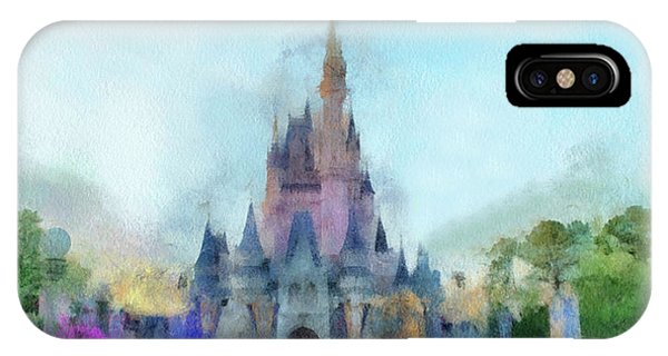 The Magic Kingdom Castle Wdw 05 Photo Art IPhone Case