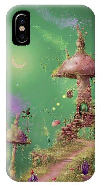The Mushroom Gatherer IPhone Case