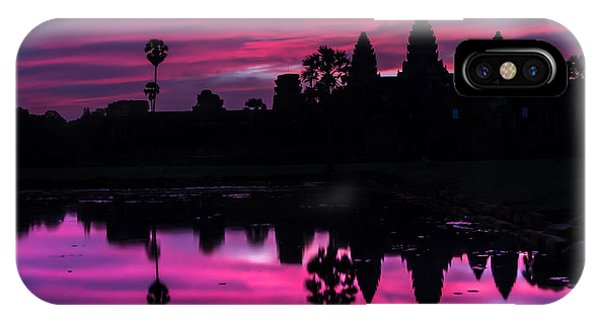 The Magic Of Angkor Wat IPhone Case