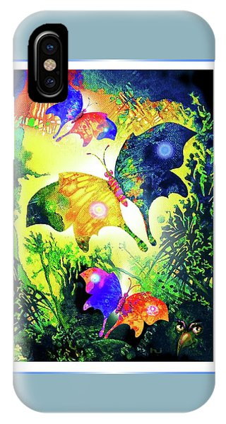 The Magic Of Butterflies IPhone Case