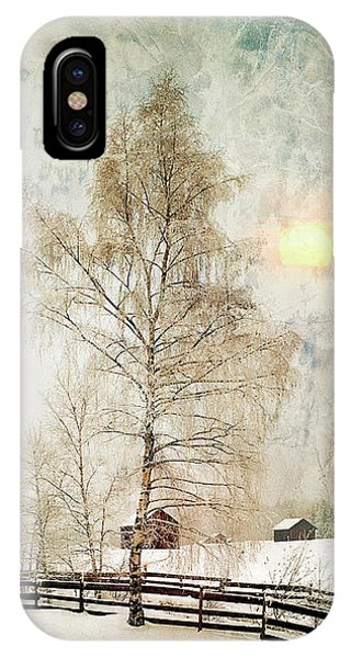 The Magic Of Winter IPhone Case