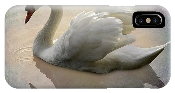 iPhone Case - The Magical Swan  by Bob Christopher